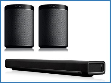 Sonos Bundle Play:1 + Playbar